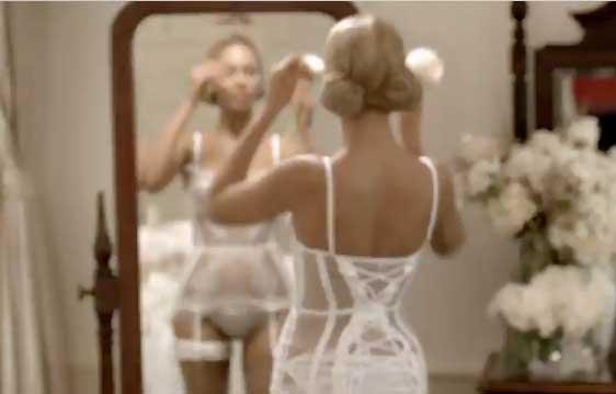 Beyonce в нижнем белье