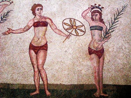 история нижнего белья (рим)