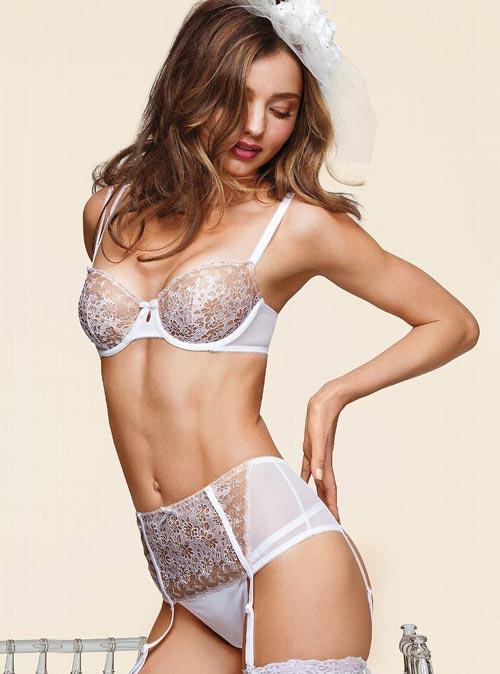 Victoria's Secret: Свадебное нижнее бельё 2013