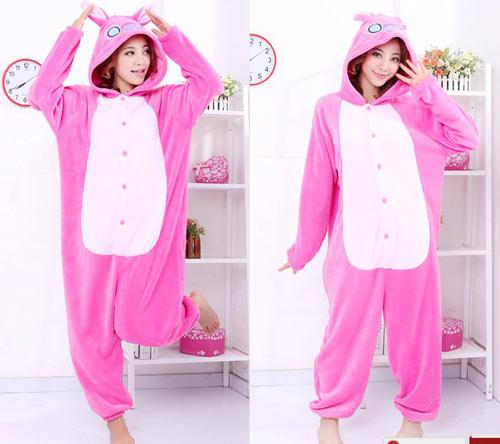 пижама-комбинезон животные