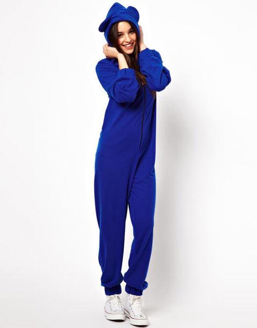 женская пижама-комбинезон