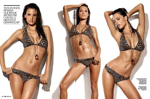 Alessandra Ambrosio в журнале GQ 2011