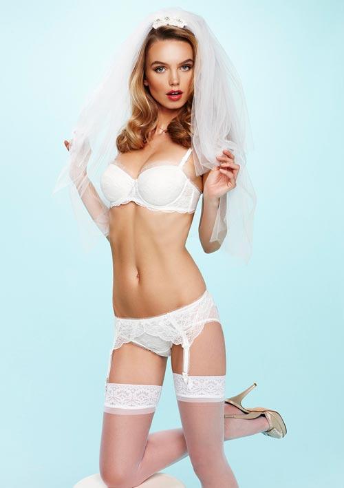 Свадебное нижнее белье 2013 - особый день, для красивой невесты