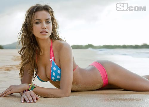 Ирина Шейк (Irina-Sheik) в купальниках для Sports-Illustrated