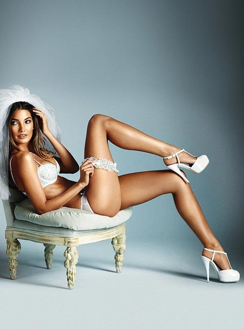свадебное нижнее бельё Victoria's Secret 2011