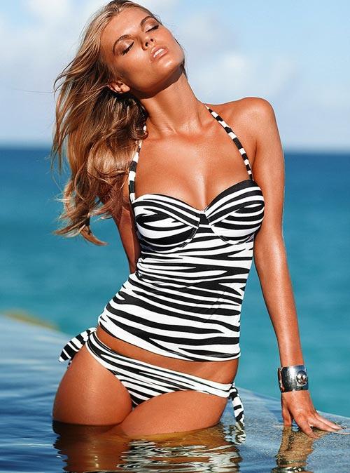 Maryna Linchuk в коллекции нижнего белья и купальников Victoria's Secret