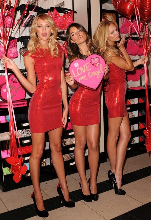 День Святого Валентина нижнее бельё от Victoria's Secret
