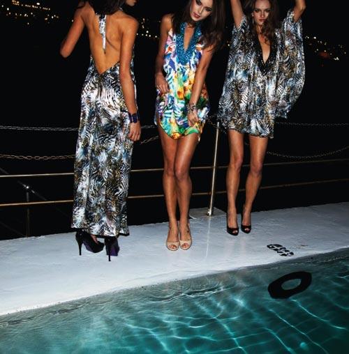 вязаная одежда и вязаные платья 2011
