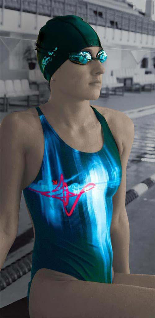спортивный купальник - фото