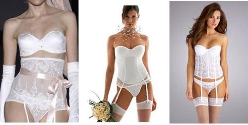 Как подобрать свадебное нижнее бельё - корсет
