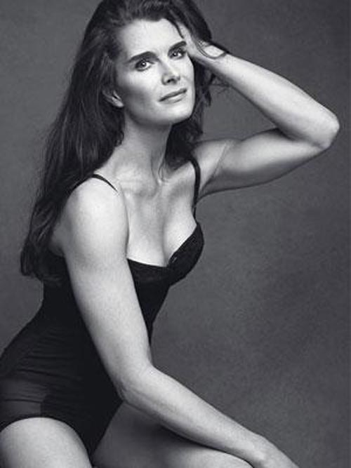 Brooke-Shields в купальнике