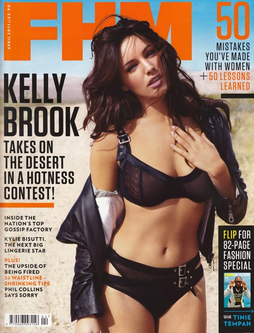 Kelly Brook и Kylie Bisutti в журнале FHM апрель 2011