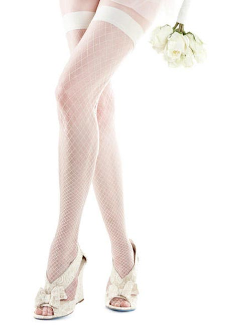 белые чулки 2013 - фото