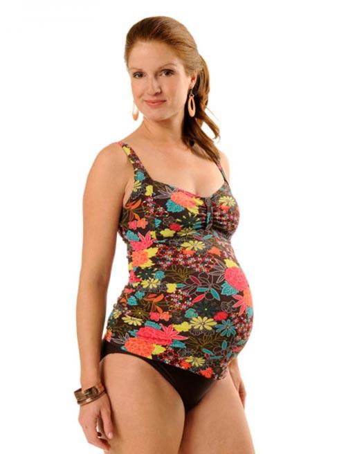 пляжная мода - купальники для беременных