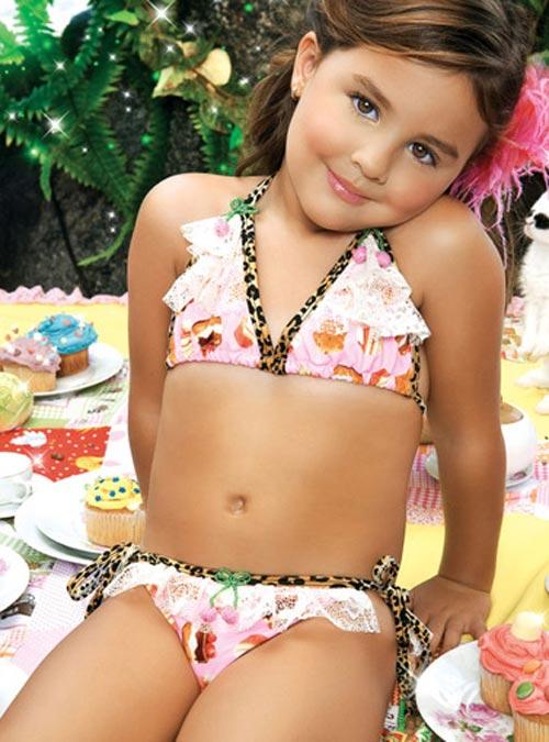 купальники для девочек - фото
