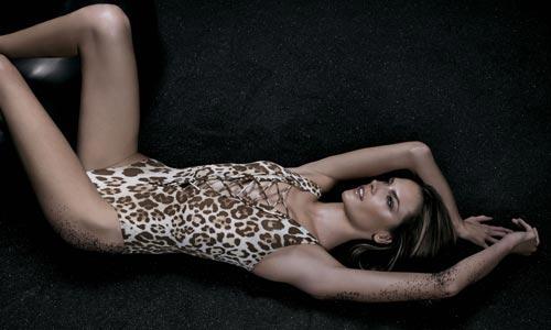 Леопардовые купальники - леопардовый принт