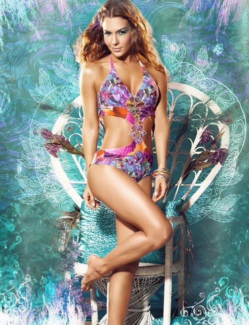 модные красивые купальники 2013 - фото